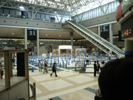 ハムフェア2011 開場準備