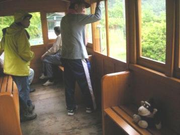 森林鉄道、運行中
