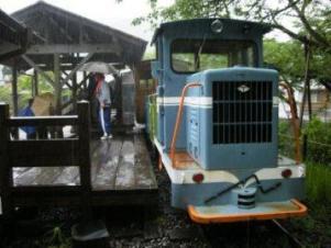 魚梁瀬、森林鉄道