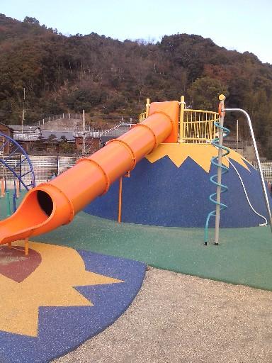 脇公園・滑り台