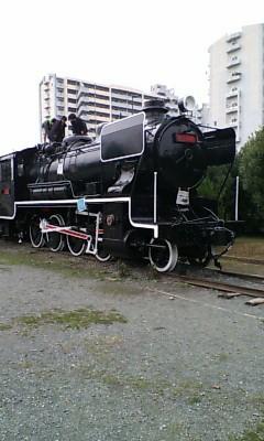 貝塚公園・機関車