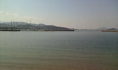 小戸公園・海