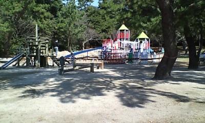 小戸公園・アスレチック