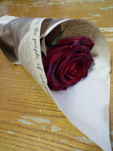 無料プレゼントのバラ