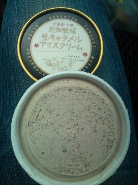 花畑牧場のチョコキャラメルアイス