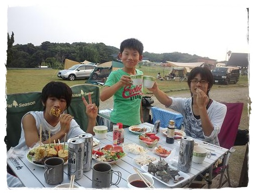 リゾート大島★初日夜♪