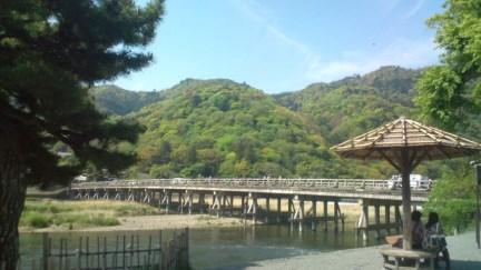003 渡月橋ベンチRe