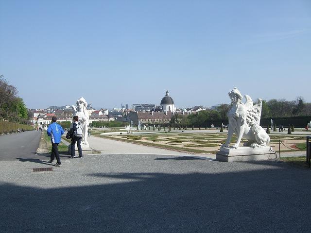 ベルヴェデーレ宮殿1