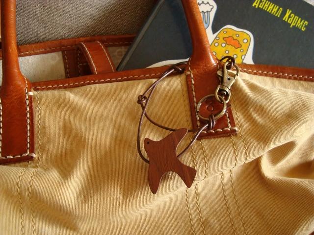 かざりあそび「とり」ロングキーホルダー 鞄