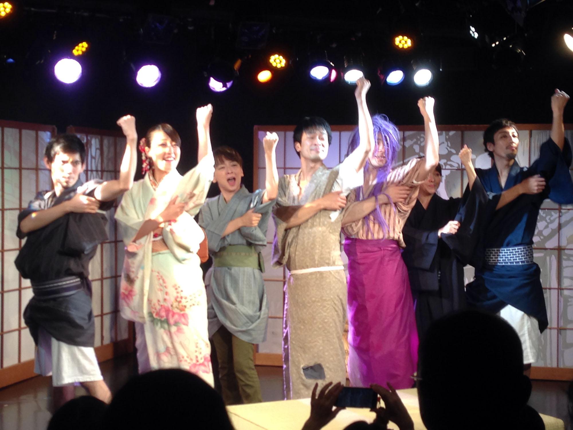 『文七元結 the musical !!』 舞台本番 エンディング by 望月龍平シアターカンパニー