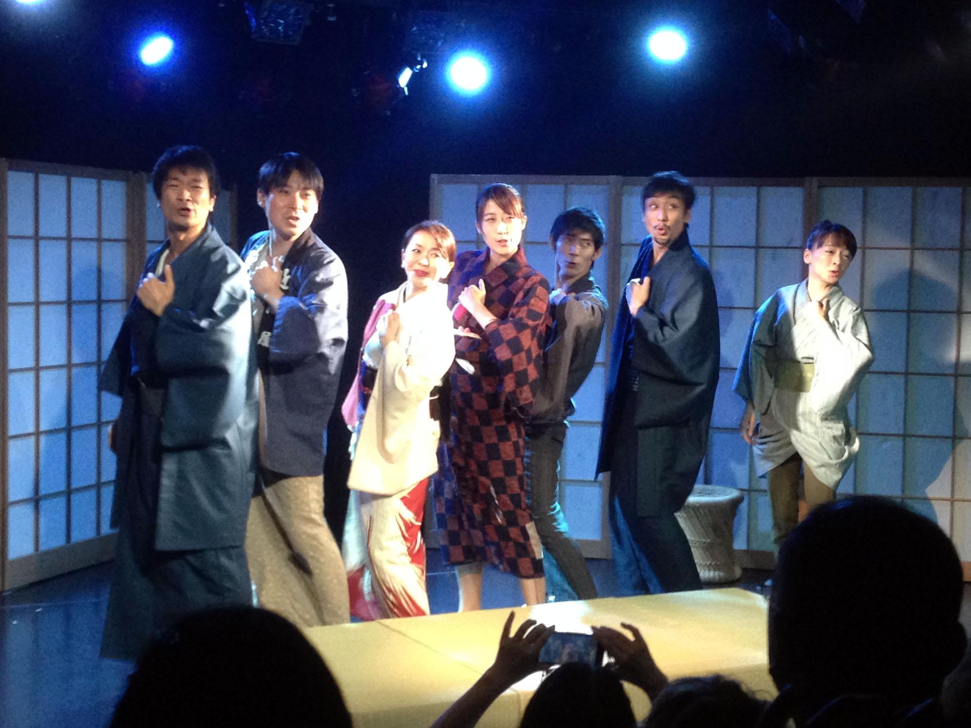 『文七元結 the musical !!』 舞台本番 オープニング by 望月龍平シアターカンパニー