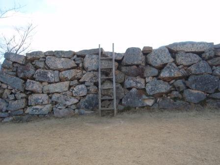 竹田城天主階段