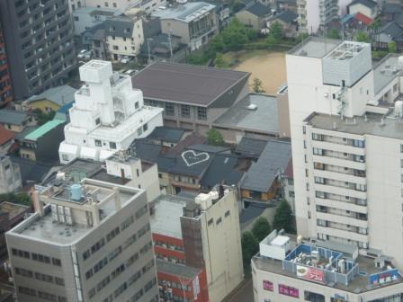 ホテル日航金沢からの眺め