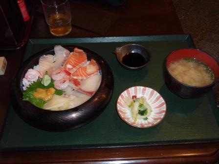 海鮮丼in近江町食堂