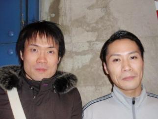 渡辺芳博さんと