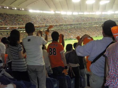 東京ドーム1塁側_090718