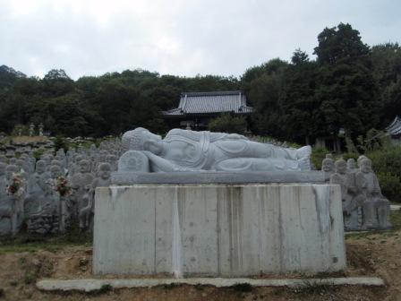 五百羅漢と鶏足寺_090923