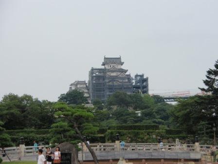 姫路城南側_100814
