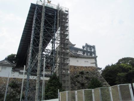 姫路城東側_100814