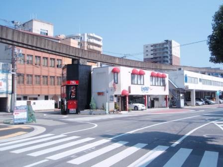 姫路モノレール線路址