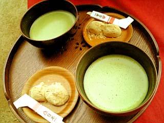 岡山後楽園 お抹茶セット