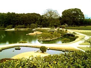 岡山後楽園 景色