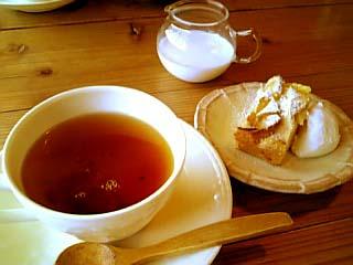 Cafe Les Cinq Noix デザート+ドリンク