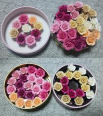 薔薇製作途中