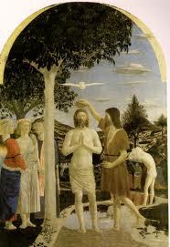 フランチェスカ キリストの洗礼