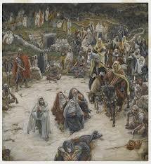 ティソ 十字架上のキリストが見たもの