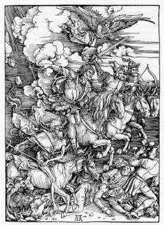 デューラー 黙示録の四騎士