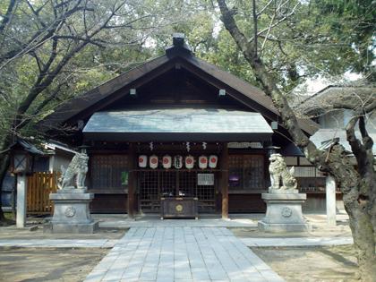 那古野神社社殿