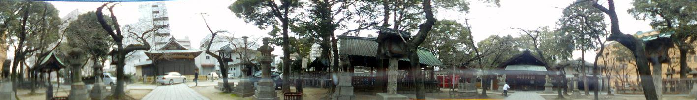 那古野神社360度