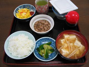 03-05 煮豆朝食