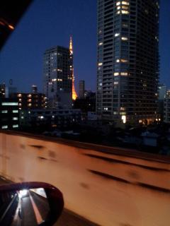 東京タワー夜景