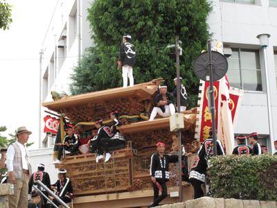 岸和田だんじり祭り2012.9.16 012-1