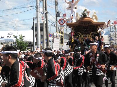 岸和田だんじり祭り2012.9.16 060-1