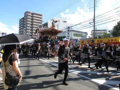 岸和田だんじり祭り2012.9.16 080-1