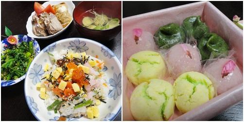 今日のご飯(ちらし寿司)