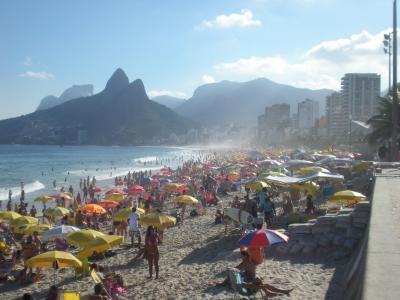 リオの海岸