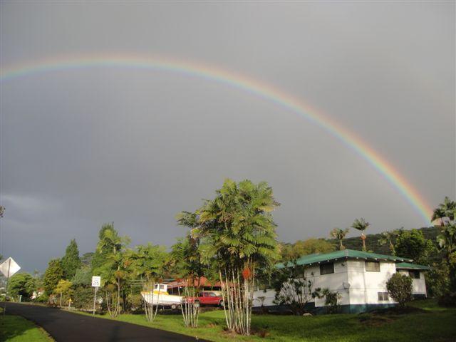 Big Rainbow in Hilo