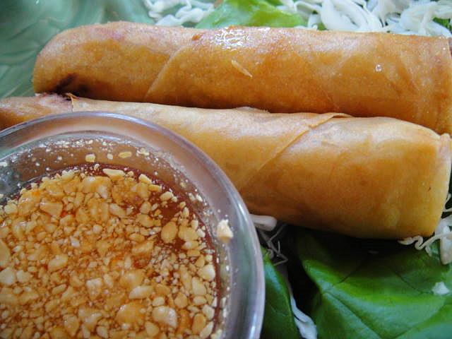Spring Rolls at Thai Thai Restaurant
