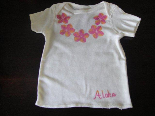 A shirt for a baby girl