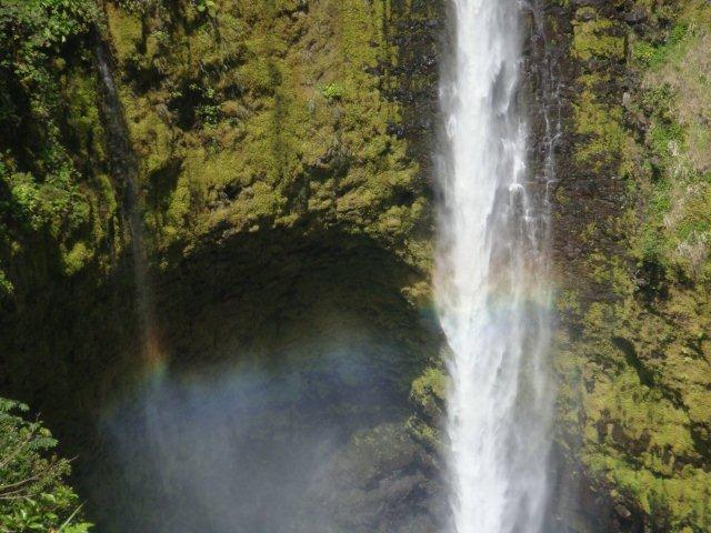 Rainbow in the Waterfalls