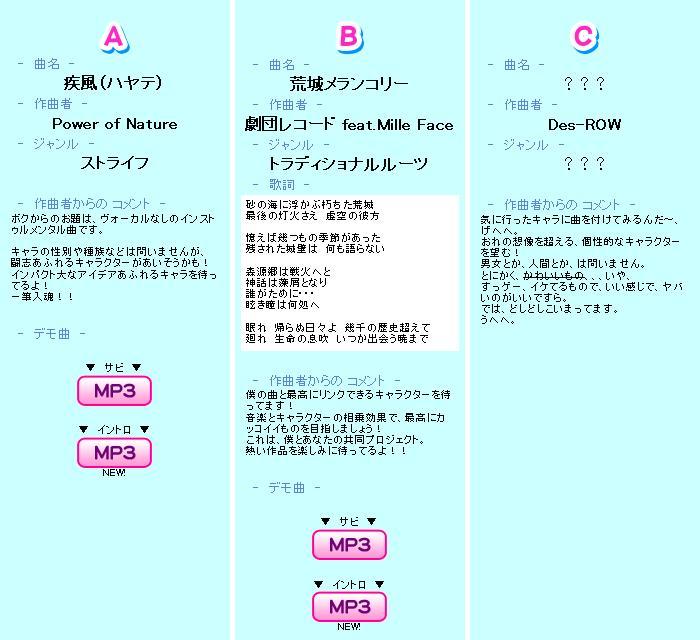 POPN20-課題曲詳細