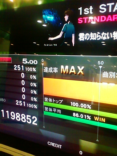 KONAMI-ARCADE-CHAMPIONSHIP-2011-1次予選-君の知らない物語G-EXCELLENT