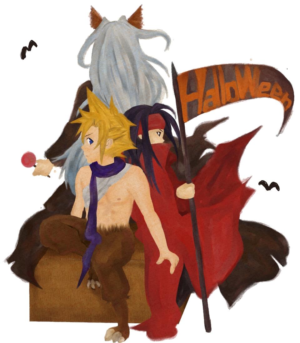 まめぞう様作ハロウィン2011-3-FF7