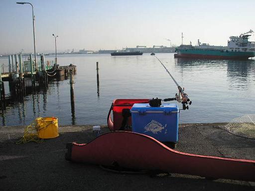 釣り場風景