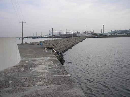 今日の釣り場