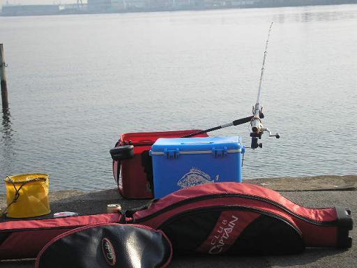 本日の釣り座